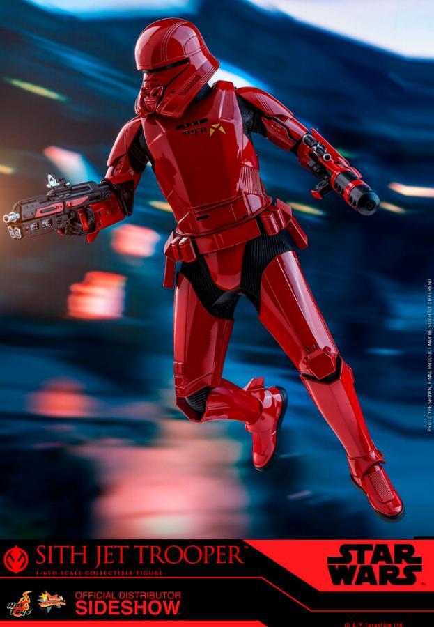 Star Wars Sith Jet Trooper Sixth Scale Figure - Hot Toys Sith-j14
