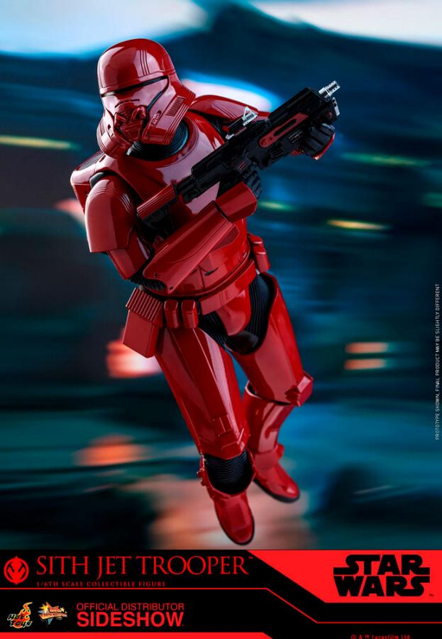 Star Wars Sith Jet Trooper Sixth Scale Figure - Hot Toys Sith-j15