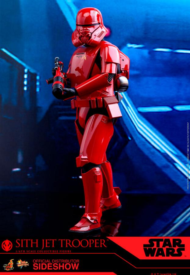 Star Wars Sith Jet Trooper Sixth Scale Figure - Hot Toys Sith-j16