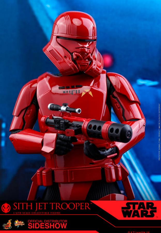 Star Wars Sith Jet Trooper Sixth Scale Figure - Hot Toys Sith-j17