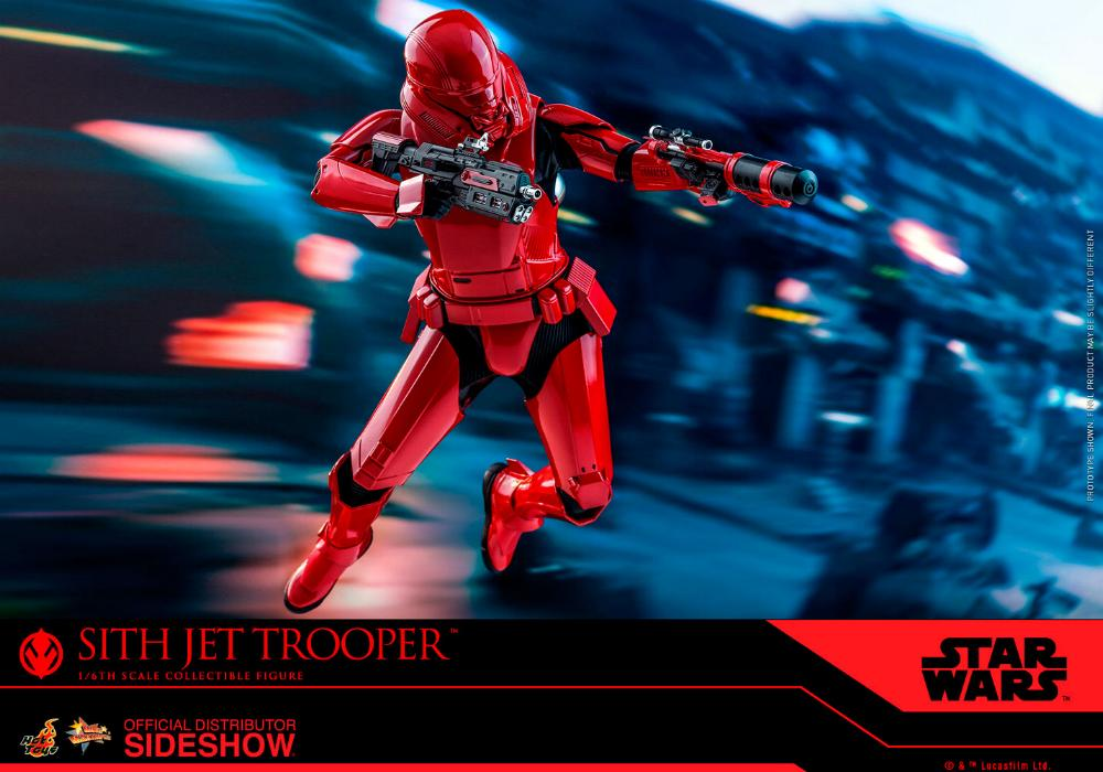 Star Wars Sith Jet Trooper Sixth Scale Figure - Hot Toys Sith-j18