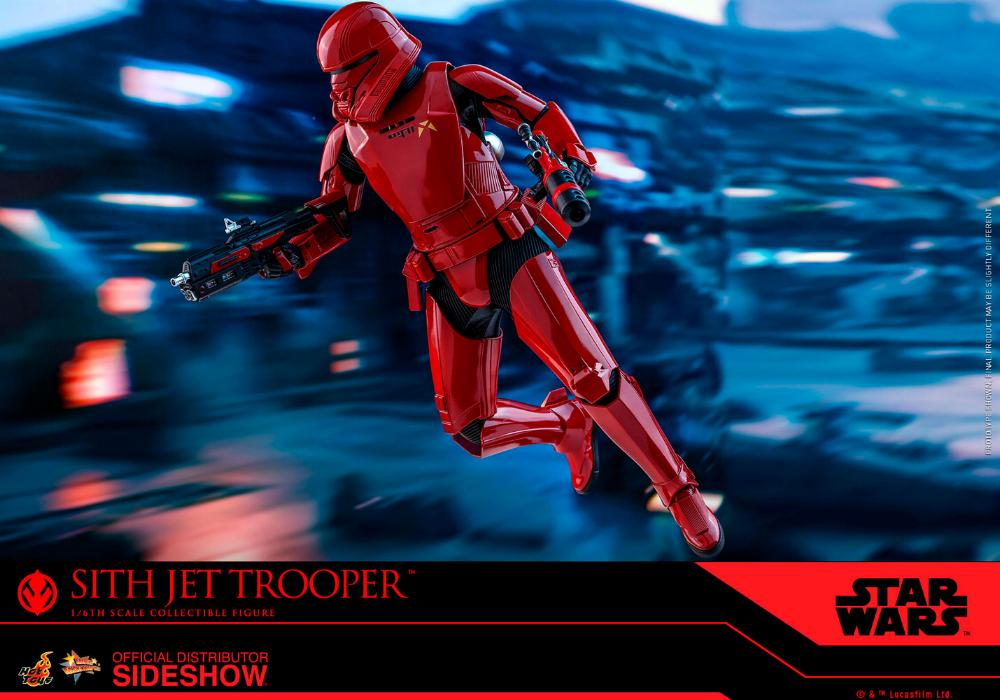 Star Wars Sith Jet Trooper Sixth Scale Figure - Hot Toys Sith-j19