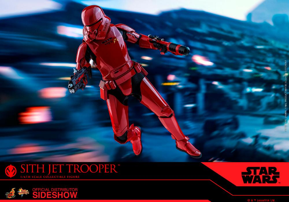 Star Wars Sith Jet Trooper Sixth Scale Figure - Hot Toys Sith-j20