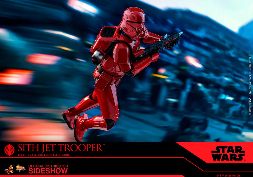 Star Wars Sith Jet Trooper Sixth Scale Figure - Hot Toys Sith-j21