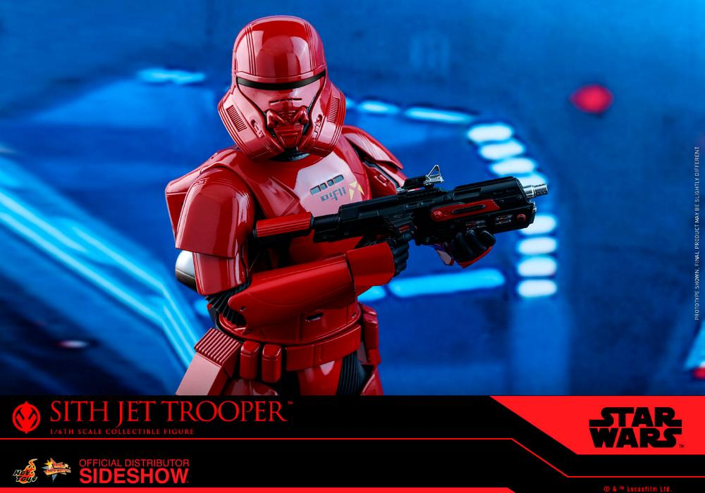 Star Wars Sith Jet Trooper Sixth Scale Figure - Hot Toys Sith-j22