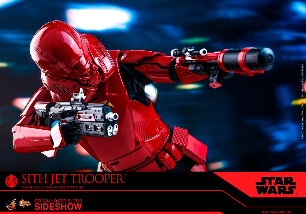 Star Wars Sith Jet Trooper Sixth Scale Figure - Hot Toys Sith-j23