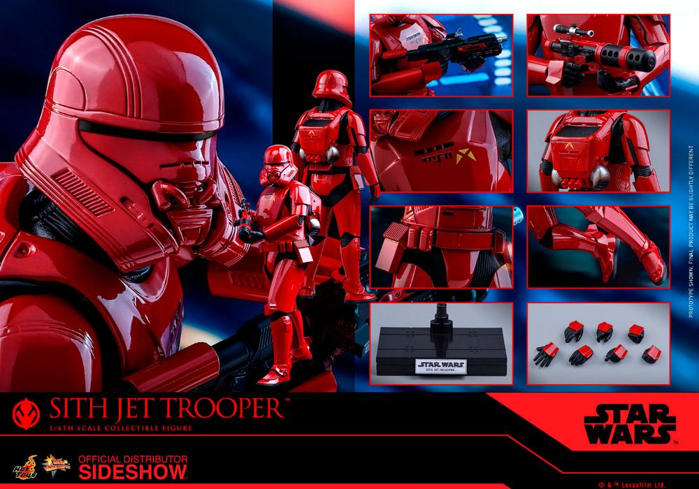 Star Wars Sith Jet Trooper Sixth Scale Figure - Hot Toys Sith-j24