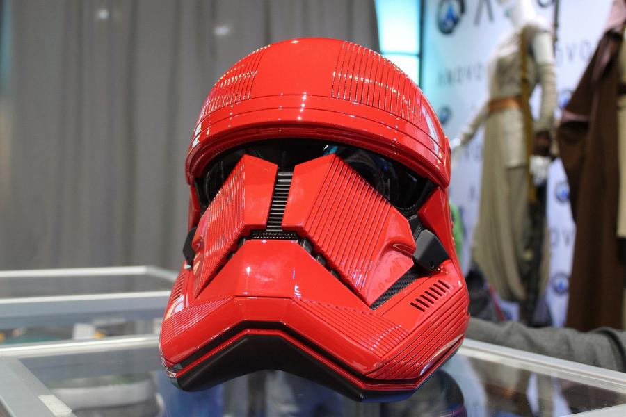 ANOVOS STAR WARS - Sith trooper Helmet Sith_011