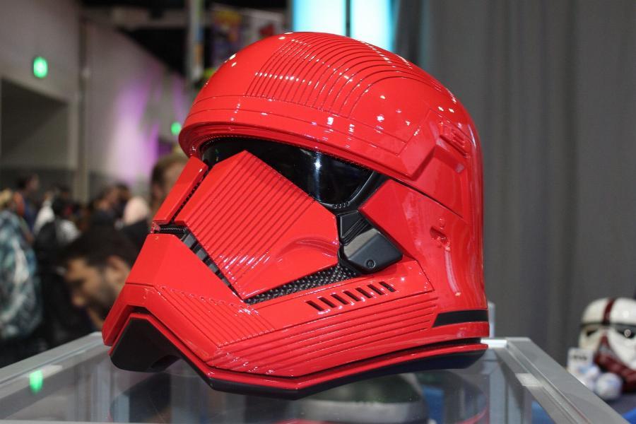 ANOVOS STAR WARS - Sith trooper Helmet Sith_012