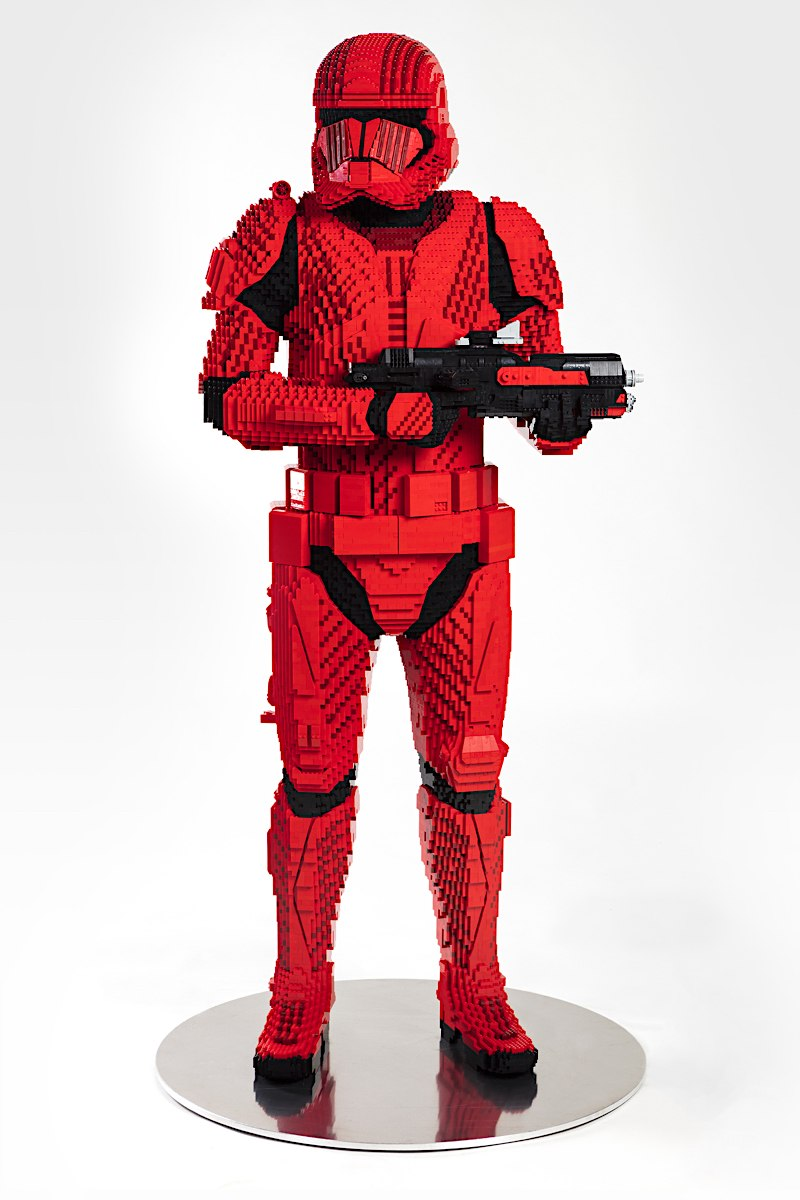 LEGO Star Wars Life Size Sith trooper Sith_t16