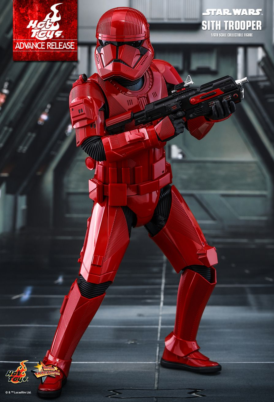 Sith Trooper 1/6 Scale Figure - Hot Toys Star Wars  Sith_t17