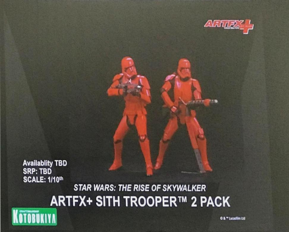 Star Wars Sith Trooper 1/10 Scale 2 Pack ARTFX+ - Kotobukiya Sith_t18