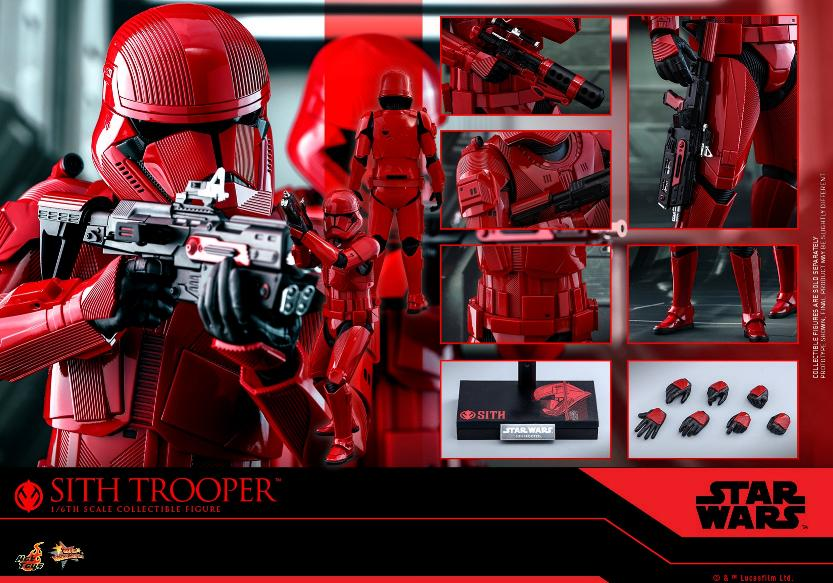 Sith Trooper 1/6 Scale Figure - Hot Toys Star Wars  Sith_t38