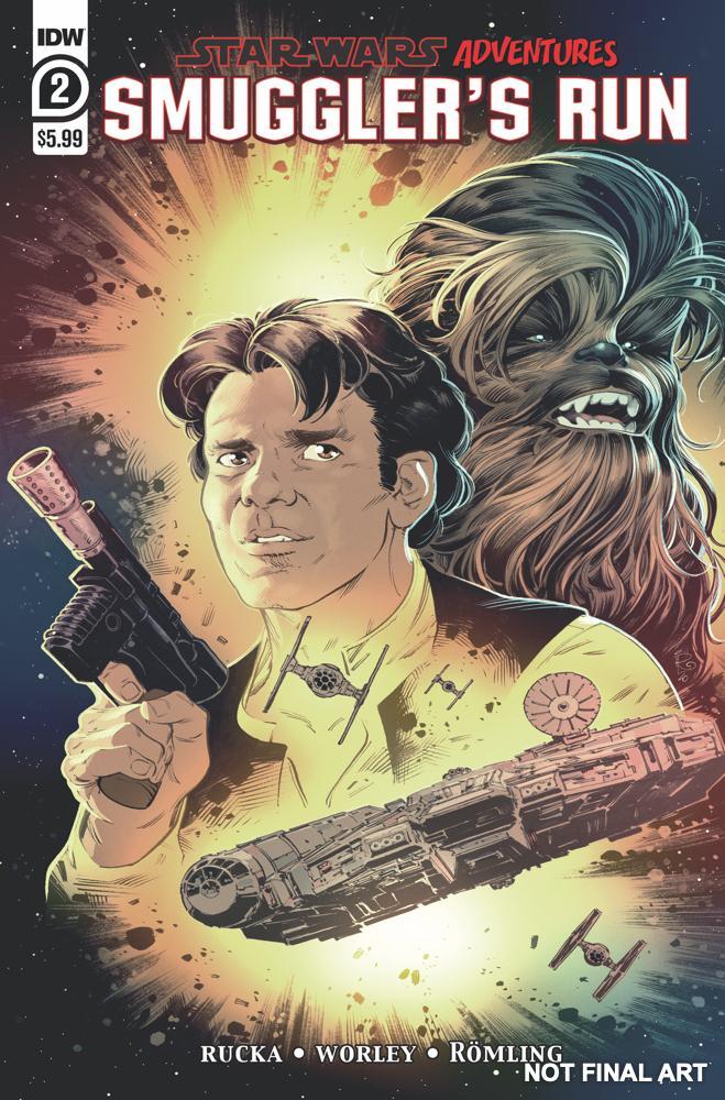Star Wars Adventures: Smuggler's Run - IDW Smuggl12