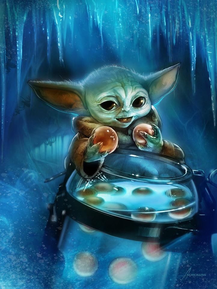 Snack Attack - Artwork Star Wars - ACME Archives  Snack_10