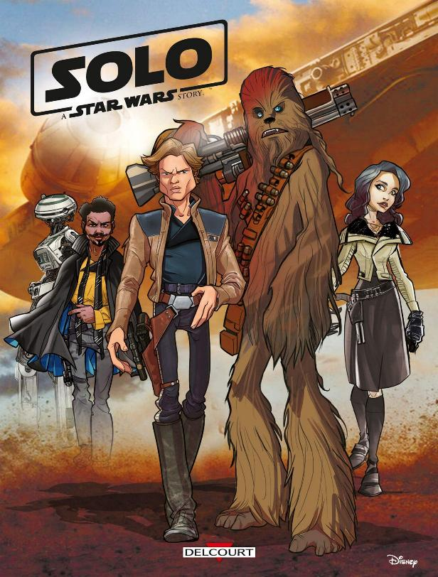 Star Wars Solo A Star Wars Story (Jeunesse) - DELCOURT Solo_027