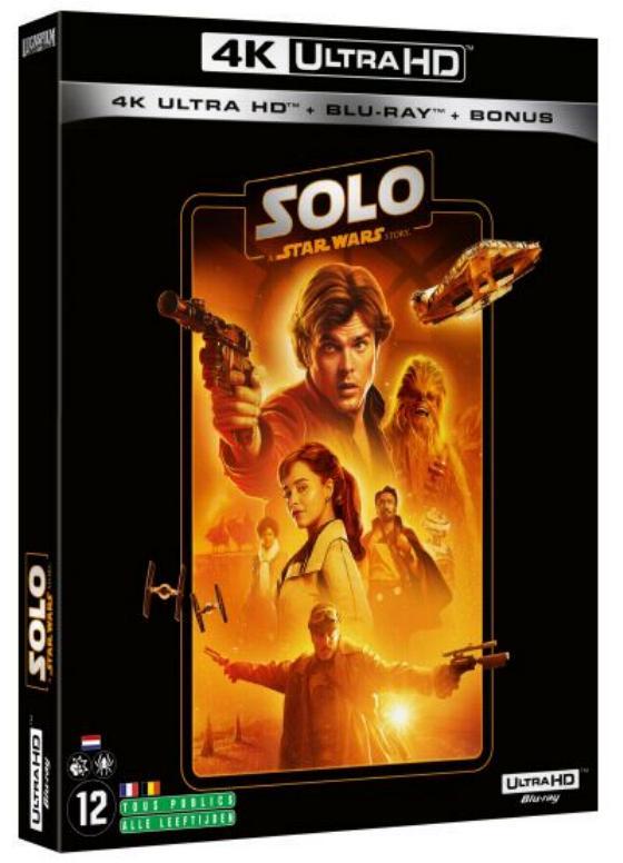 Coffret complet de la saga Star Wars en Blu-ray/4K UHD Solo_410