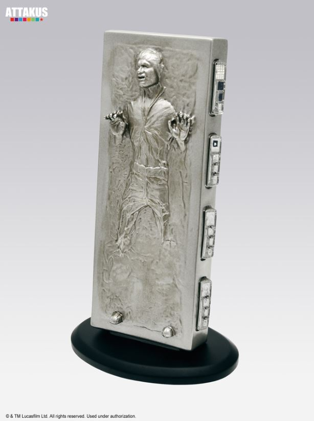 ATTAKUS - Star Wars Elite Collection 1/10 Han Solo Carbonite Solo_c11