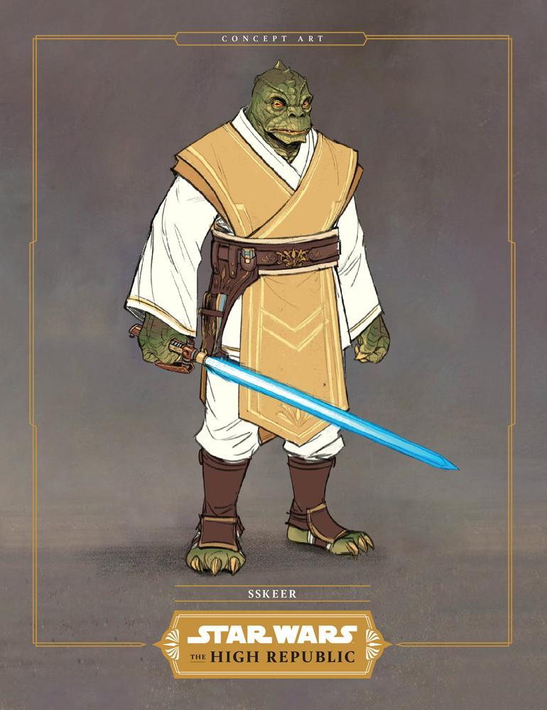 Star Wars La Haute République : Les Jedis & Padawans Sskeer12