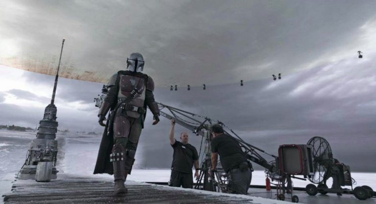 "La série The Mandalorian utilise la technologie ""Stagecraft"" Stagec11"