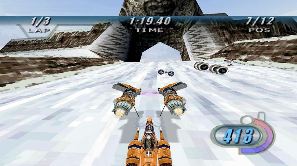 STAR WARS EPISODE I RACER sur NINTENDO SWITCH & PS4 Star-w18
