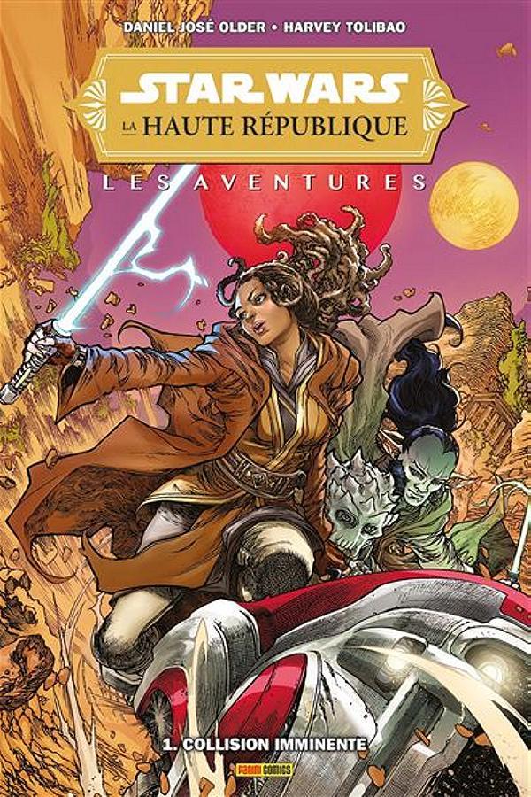 Star Wars - La Haute République - Les aventures T01 - PANINI Star-w33