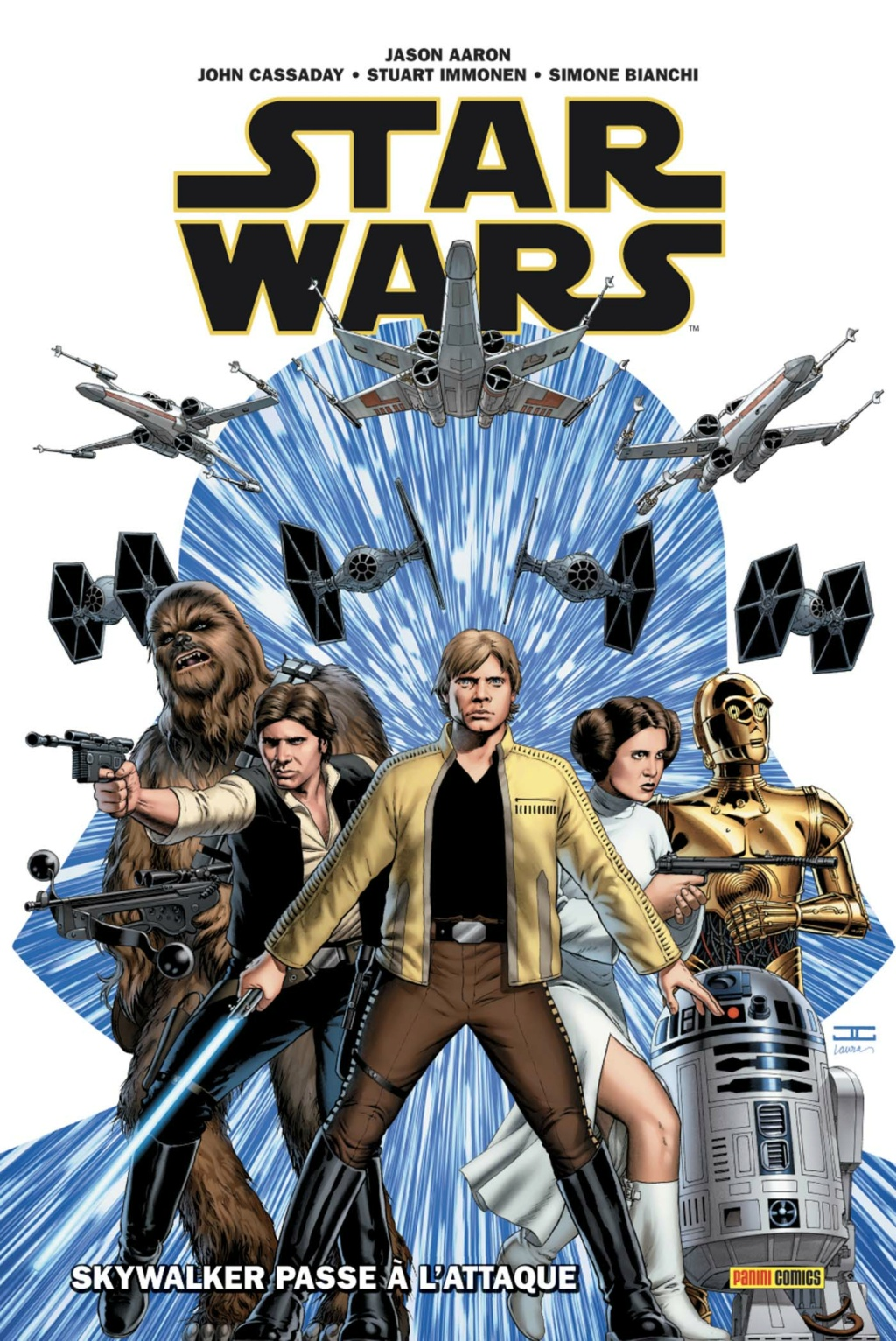 STAR WARS DELUXE : STAR WARS tome 01 - PANINI  Star_128