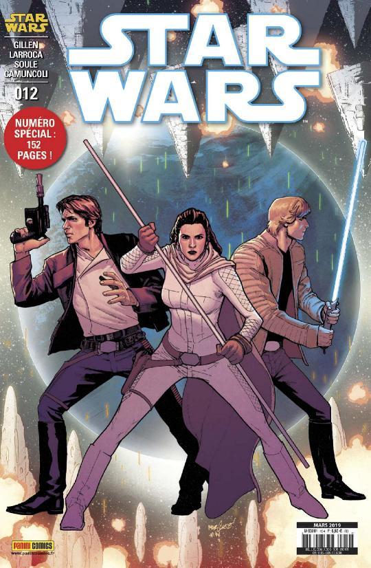 MAGAZINE STAR WARS #12 (25) PANINI - Mars 2019 Star_w38