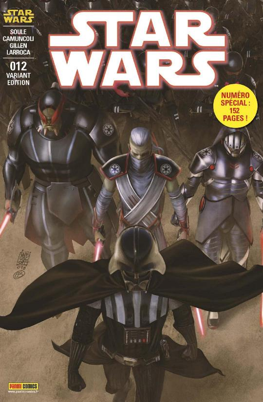 MAGAZINE STAR WARS #12 (25) PANINI - Mars 2019 Star_w39