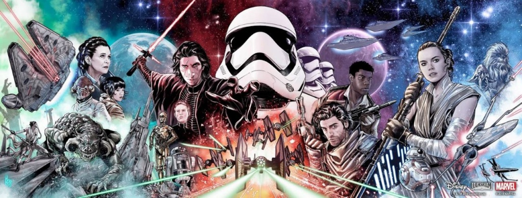 Star Wars: The Rise of Skywalker – Allegiance - MARVEL Star_w72