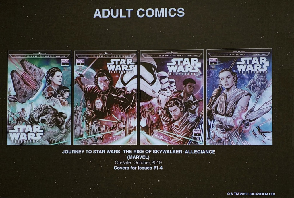 Star Wars: The Rise of Skywalker – Allegiance - MARVEL Star_w73