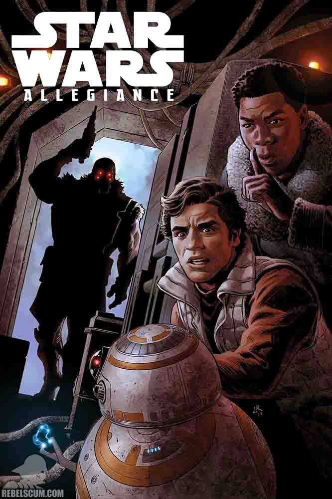 Star Wars: The Rise of Skywalker – Allegiance - MARVEL Star_w75