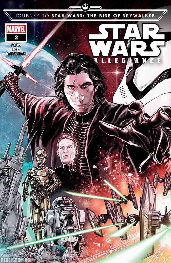 Star Wars: The Rise of Skywalker – Allegiance - MARVEL Star_w76
