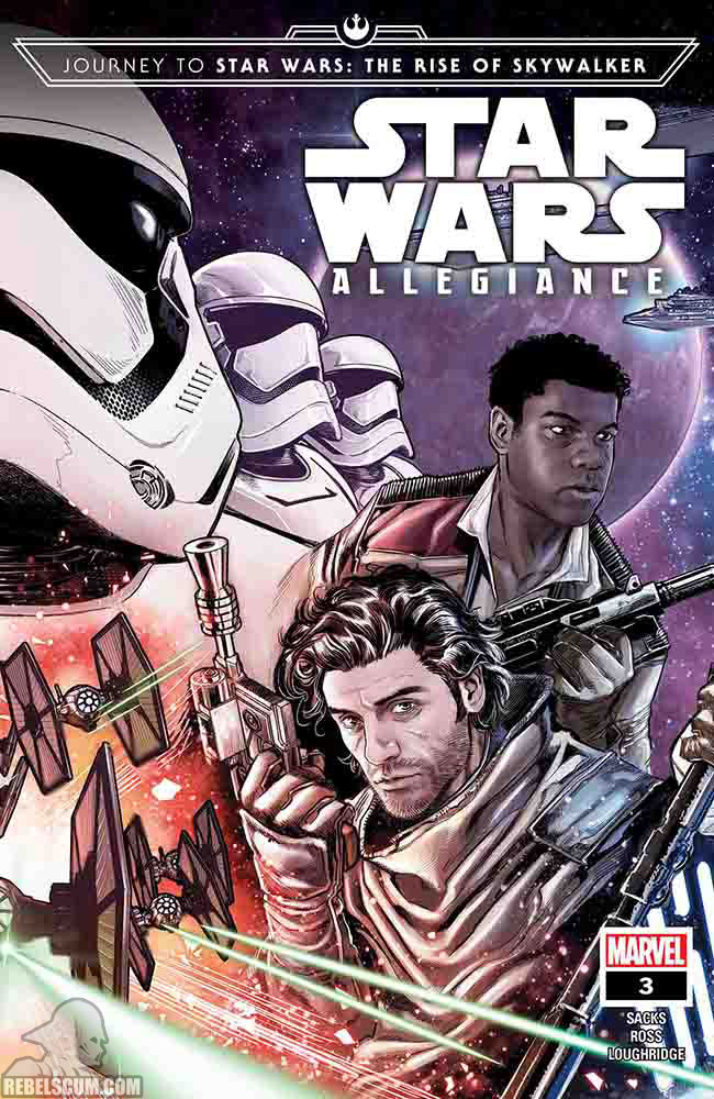 Star Wars: The Rise of Skywalker – Allegiance - MARVEL Star_w77