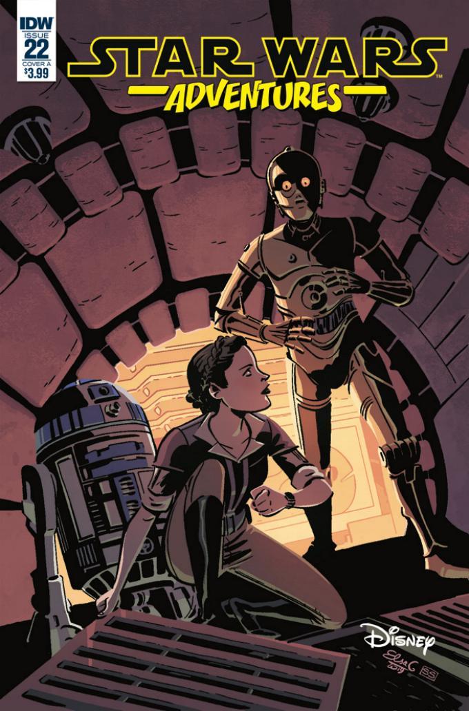 Star Wars Adventures - IDW Starw101