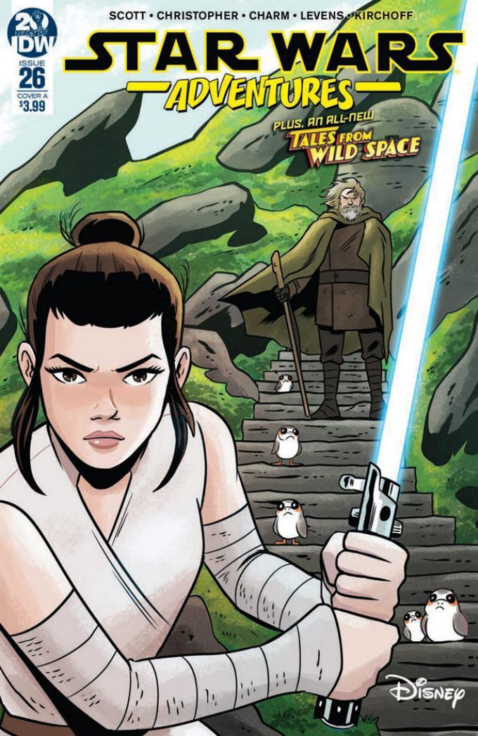 Star Wars Adventures - IDW Starw105
