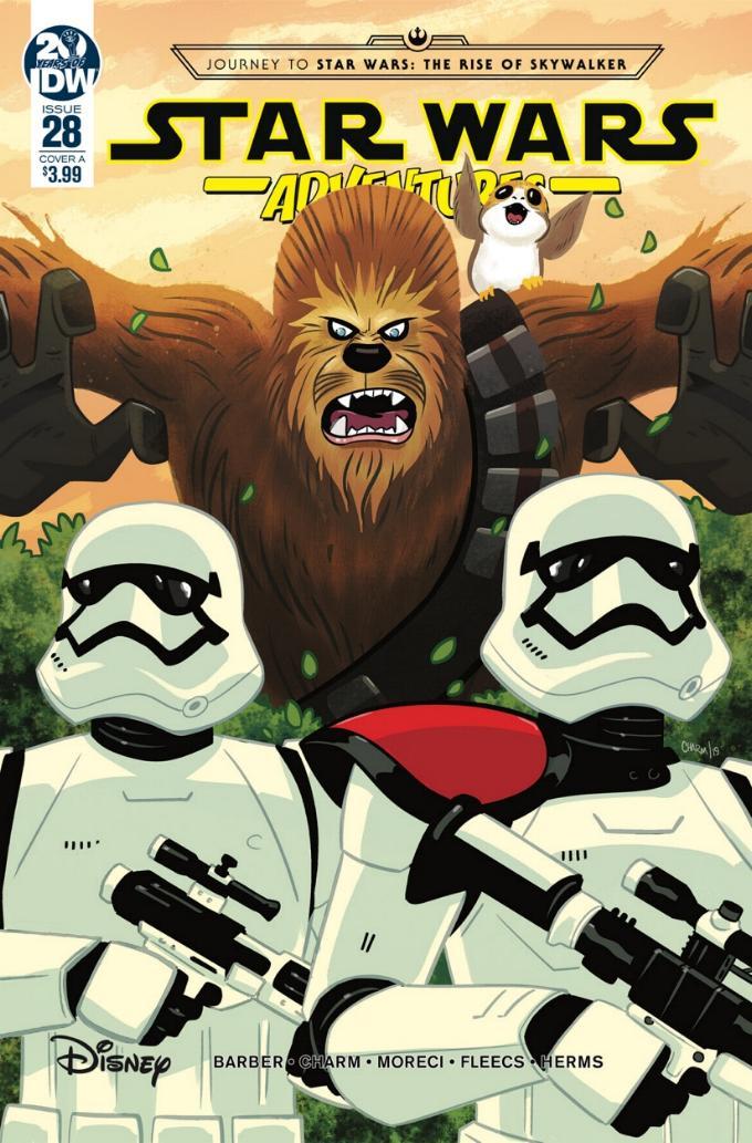 Star Wars Adventures - IDW Starw107