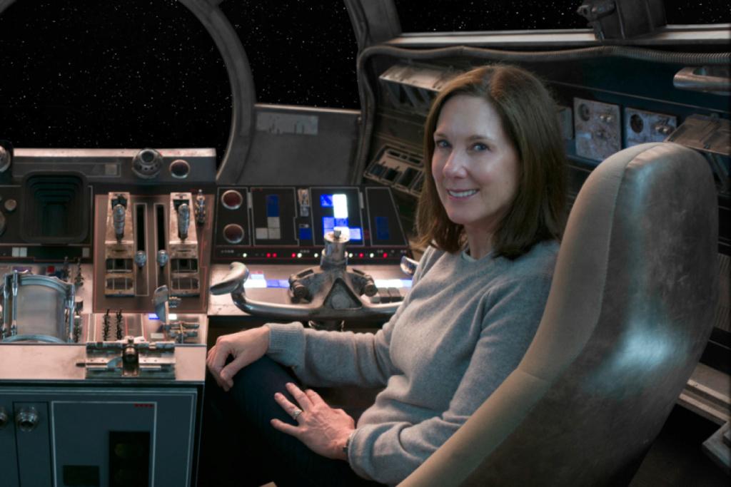 Kathleen Kennedy parle de Rise of Skywalker et de l'avenir Starwa55