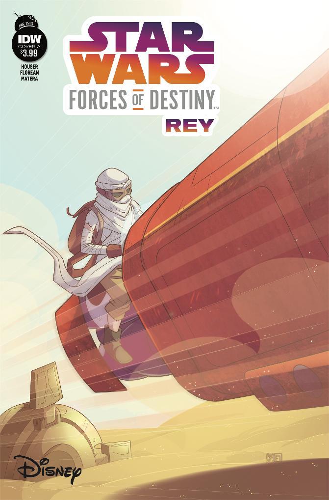 Star Wars Forces Of Destiny - IDW Starwa69