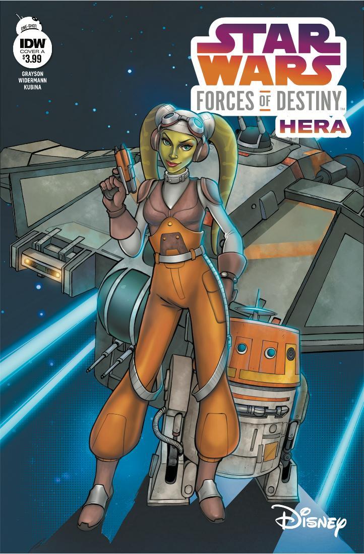 Star Wars Forces Of Destiny - IDW Starwa70