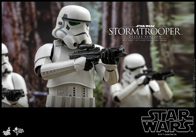 Hot Toys - Stormtrooper 1:6 Collectible Figure (Deluxe) Stormt11