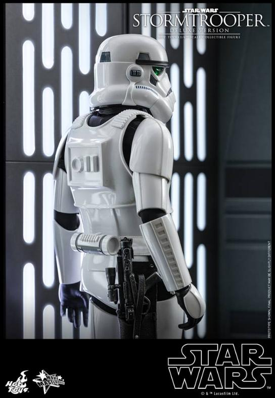 Hot Toys - Stormtrooper 1:6 Collectible Figure (Deluxe) Stormt14