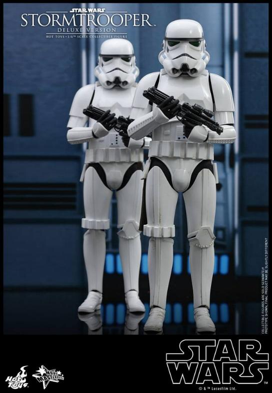 Hot Toys - Stormtrooper 1:6 Collectible Figure (Deluxe) Stormt15