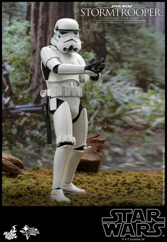 Hot Toys - Stormtrooper 1:6 Collectible Figure (Deluxe) Stormt16