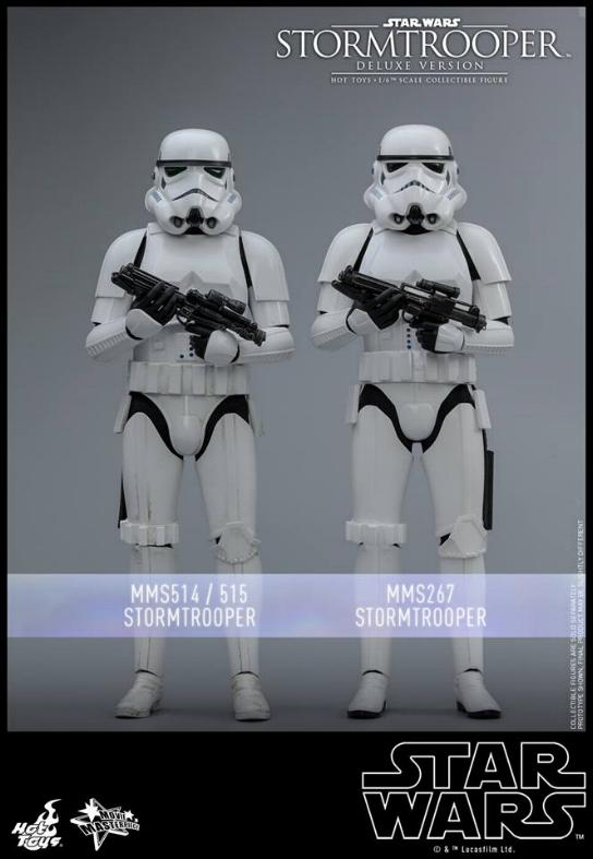 Hot Toys - Stormtrooper 1:6 Collectible Figure (Deluxe) Stormt19