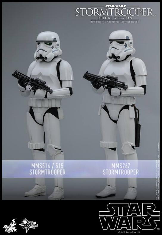Hot Toys - Stormtrooper 1:6 Collectible Figure (Deluxe) Stormt20