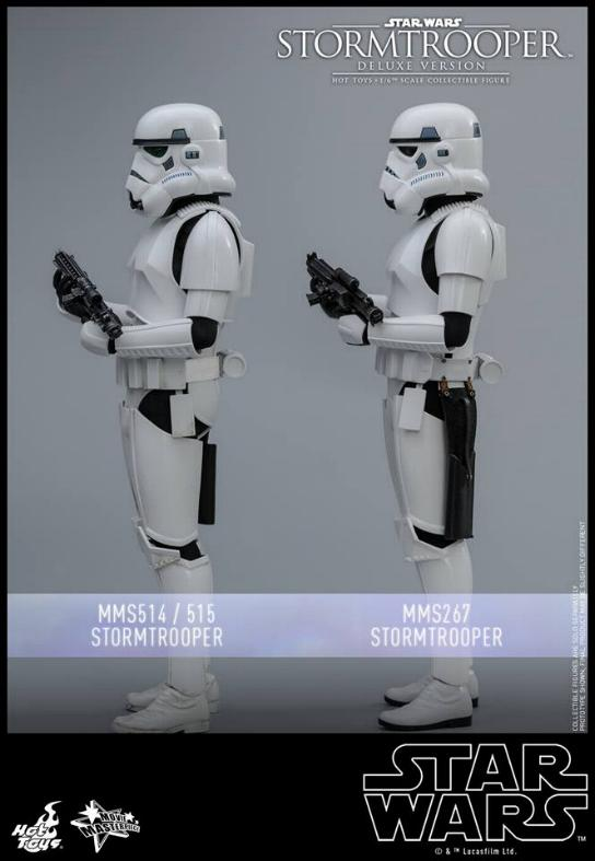 Hot Toys - Stormtrooper 1:6 Collectible Figure (Deluxe) Stormt21