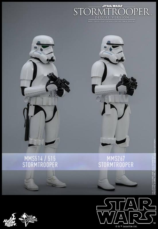 Hot Toys - Stormtrooper 1:6 Collectible Figure (Deluxe) Stormt23