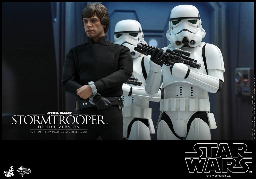 Hot Toys - Stormtrooper 1:6 Collectible Figure (Deluxe) Stormt26