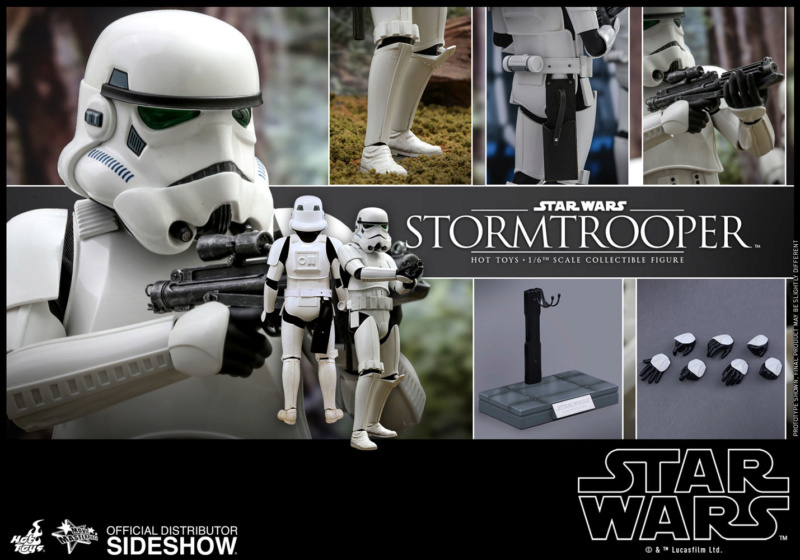 Hot Toys - Stormtrooper 1:6 Collectible Figure (Deluxe) Stormt28